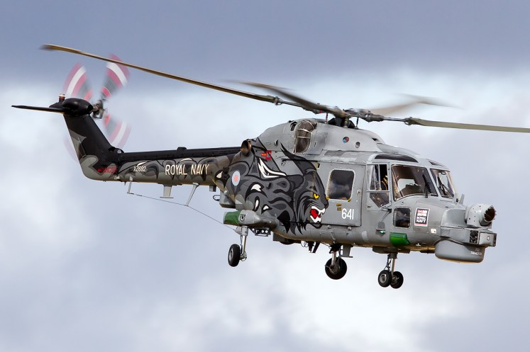 © Adam Duffield - The Black Cats display team scheme - Royal Navy Lynx Retirement