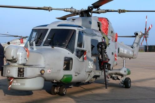 ©Mark Kwiatkowski - Browning AN/M3M .50 calibre heavy machine gun fitted to the Lynx - Royal Navy Lynx Retirement