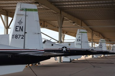 © Mark Forest - Raytheon T-6A Texan II Flight Line - US Air Force Air Education and Training Command