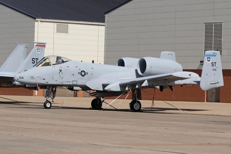 ©Mark Forest - Fairchild Republic A-10A Thunderbolt II 78-0591 - US Air Force Air Education and Training Command