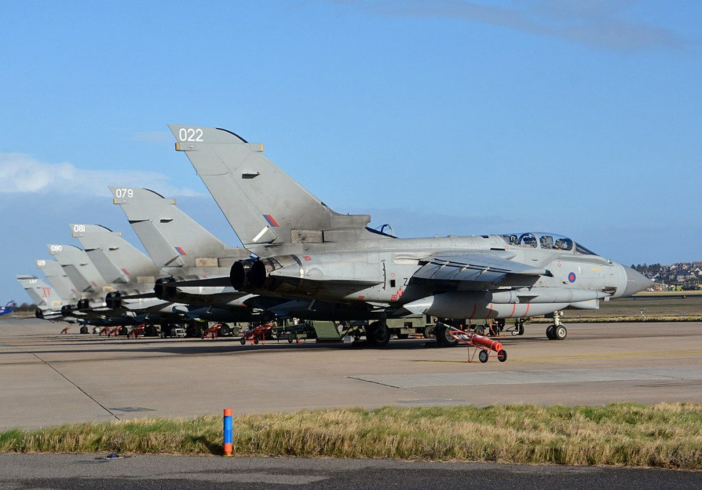 © Niall Paterson - XV Squadron Flight Line - XV(R) Squadron Photo Event