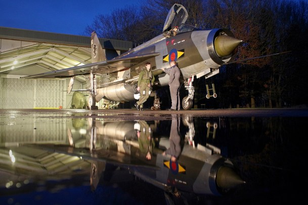 © Jamie Ewan - English Electric Lightning F6 XS904/BQ - Lightning Preservation Group Nightshoot