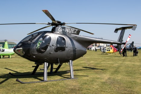 © Adam Duffield - Hughes 500 G-HUEZ - Gazelle 50th Anniversary Fly-in