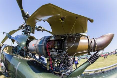 © Adam Duffield - Turbomeca Astazou IIIN2 powerplant of HT.2 G-SIVJ - Gazelle 50th Anniversary Fly-in