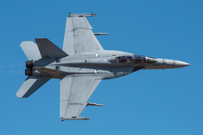 ©Douglas Monk - Royal Australian Air Force Boeing F/A-18F Super Hornet A44-207 - Australian International Air Show 2017