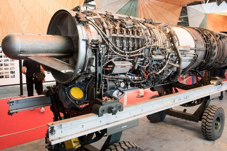 ©Duncan Monk - Hellenic Air Force RF-4E General Electrics J79 Engine - Larissa AB