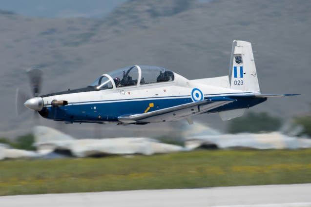© Duncan Monk - Hellenic Air Force Texan T-6A II 023 - Larissa AB