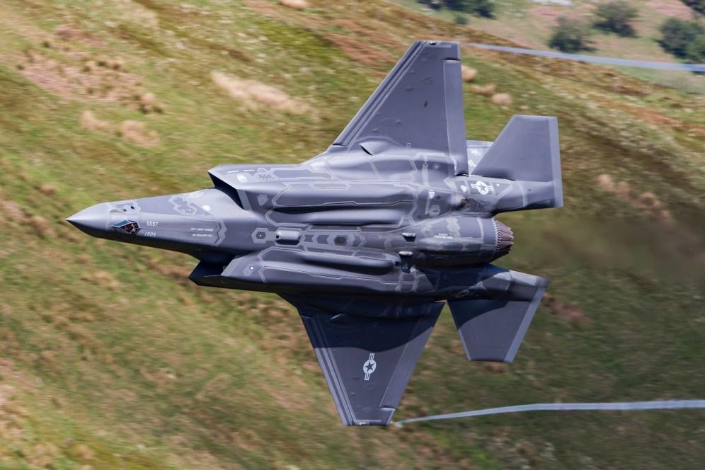 © Craig Sluman - Lockheed Martin F-35A Lightning II 14-5097 - F-35A Deployment to RAF Lakenheath