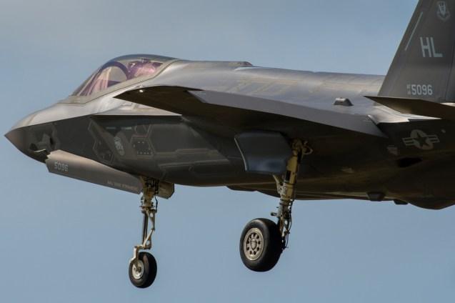 ©Duncan Monk - USAF Lockheed F-35A 14-5096 - RAF Lakenheath