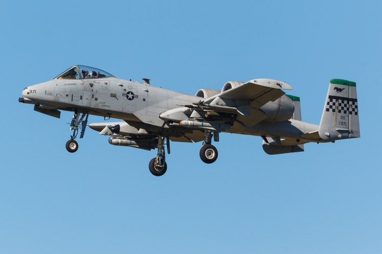 © Mark McGrath - A10C (81-0971) of the 25th FS Osan AFB landing during Red Flag Alaska 17-2 - Red Flag Alaska 17-2