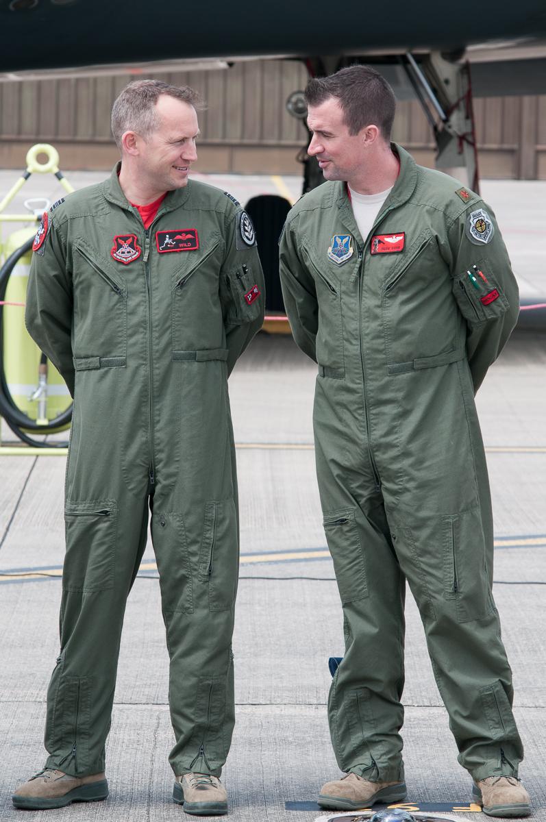 © Duncan Monk - B-2A RAF Sqn Leader - USAF Bomber Deployment RAF Fairford