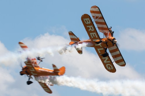 © Adam Duffield - Breitling Wing Walkers - Duxford Air Festival 2017