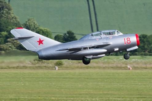 © Duncan Monk - Mikoyan-Gurevich MiG-15UTI 'RED-18 - Duxford Air Festival 2017