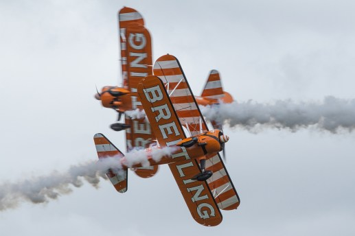 © James Innes - Breitling Wingwalkers - RAF Cosford Air Show 2017