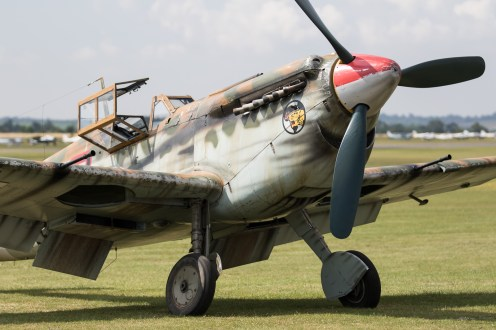 © Adam Duffield - Bf109 Buchon G-AWHK - Flying Legends 2017