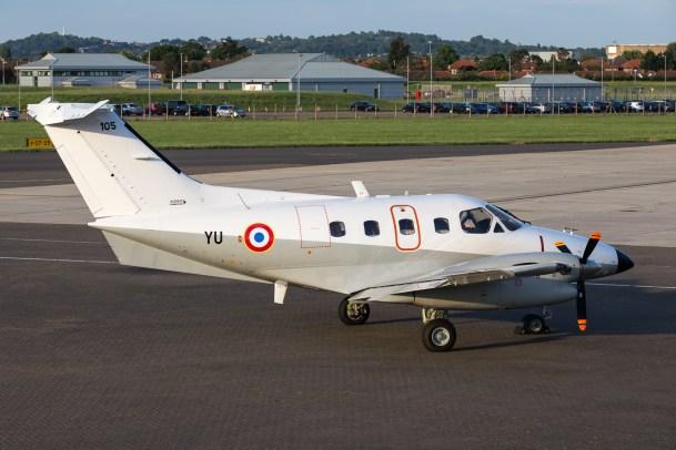 © Adam Duffield - Embraer EMB 121 Xingu 105/YU - Northolt Evening Photoshoot XXIIa