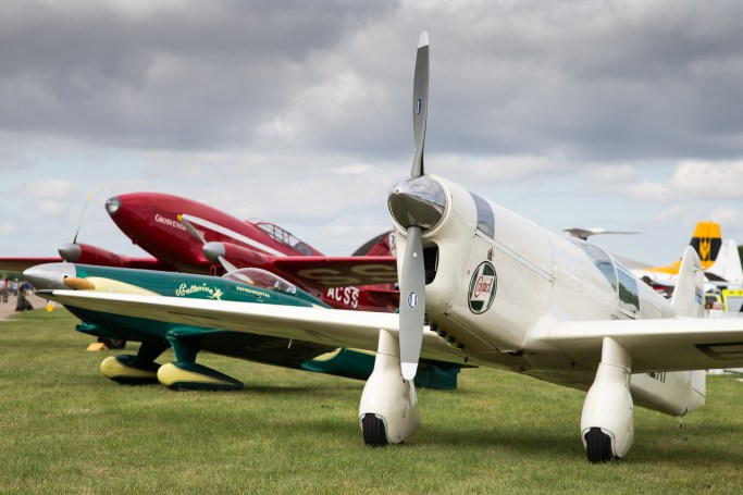 © Adam Duffield - Classic Air Racers lineup - Flying Legends 2017