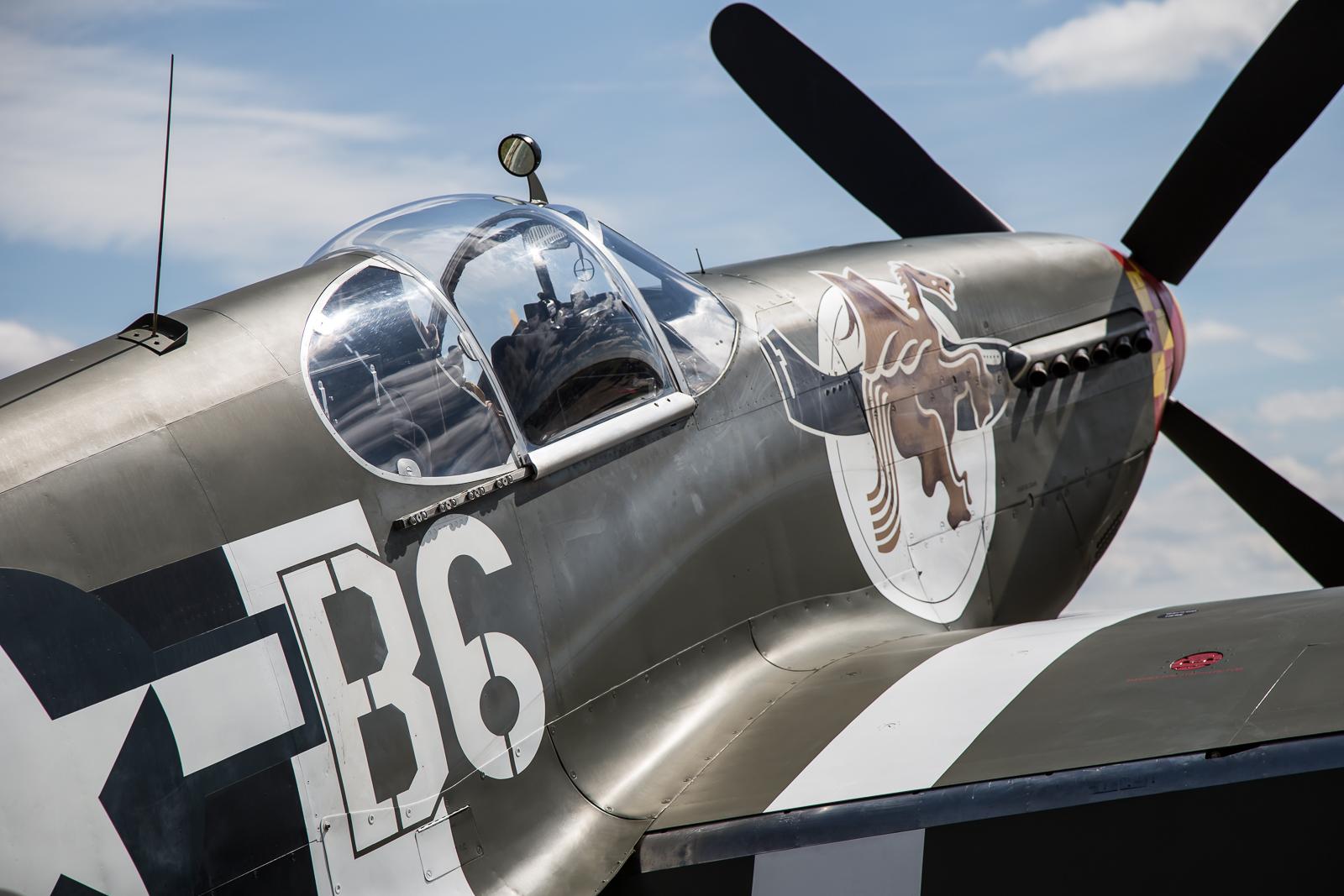 © Adam Duffield - P-51B Mustang 'Berlin Express' N515ZB - Flying Legends 2017