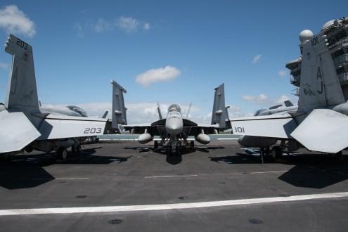 © Duncan Monk - CVW 8 F/A-18 Hornets - USS George H W Bush CVN 77