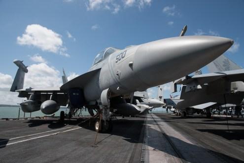 © Duncan Monk - Boeing EF-18G Growler 168772/AJ 500 - USS George H W Bush CVN 77