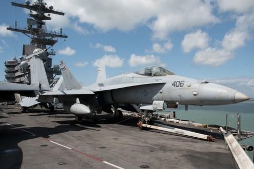 © Duncan Monk - Boeing F/A-18E Super Hornet 165200/AJ 406 - USS George H W Bush CVN 77