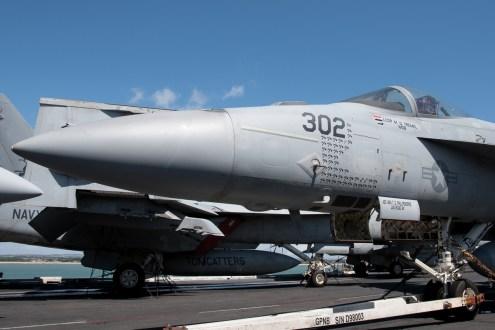 © Duncan Monk - Boeing F/A-18E 168912/AJ 302 Su-22 Fitter Killer - USS George H W Bush CVN 77