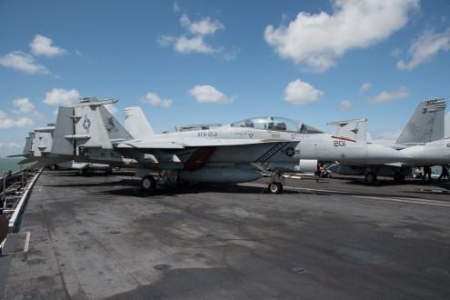 © Duncan Monk - Boeing F/A-18F Super Hornet 166674/AJ 201 VFA-213 Blacklions - USS George H W Bush CVN 77