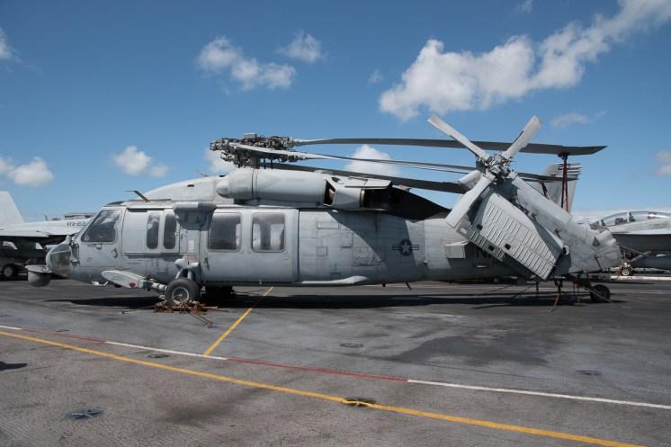 © Duncan Monk - Sikorsky MH-60S 167892/AJ 622 - USS George H W Bush CVN 77