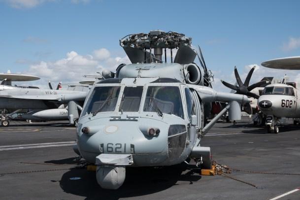 © Duncan Monk - Sikorsky MH-60S 168577/AJ 621 - USS George H W Bush CVN 77