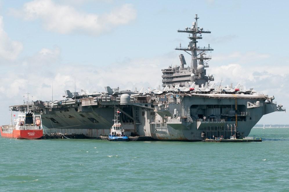 © Duncan Monk - USS George H W Bush CVN 77