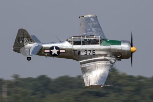 © Adam Duffield - North American T-6G Texan TA-376 / N49NA - NAS Oceana Airshow 2017