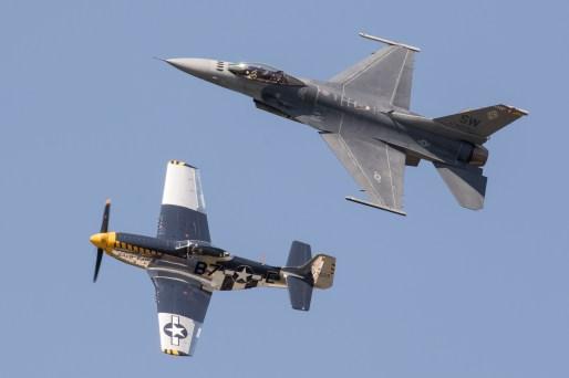 © Adam Duffield - USAF Heritage Flight - NAS Oceana Airshow 2017