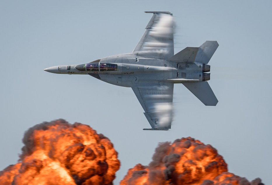 © Duncan Monk - F/A-18F Super Hornet VFA-106 'Tac Demo' 166467 - NAS Oceana Airshow 2017