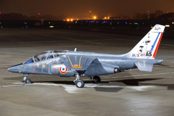 © Adam Duffield - Armée de l'Air Alpha Jet 705-ND / E26 - Northolt Nightshoot XXIII
