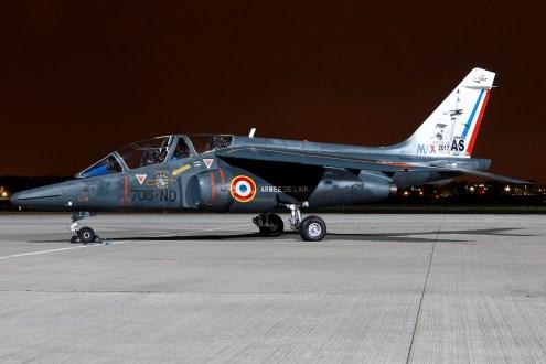 © Mark Kwiatkowski - Armée de l'Air Alpha Jet 705-ND / E26 - Northolt Nightshoot XXIII
