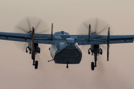 © Adam Duffield - C-2A 162143 / 44 climbing out of NALF Fentress - VRC-40 'Rawhides' – C-2A Greyhound