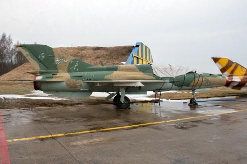 © Duncan Monk - ex-Hungarian Air Force MiG-21UM 18 - Jurmala Airport Air Zoo
