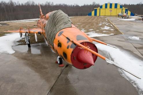 © Duncan Monk - ex-Polish Air Force Sukhoi SU-22M4 Fitter K '3910' - Jurmala Airport Air Zoo