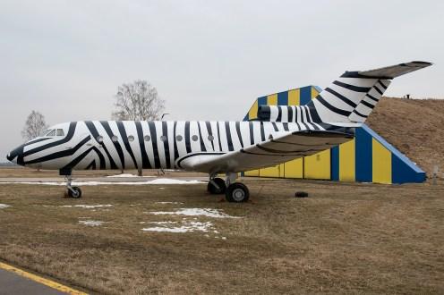 © Duncan Monk - Yakolev Yak-40 LY-AAC - Jurmala Airport Air Zoo