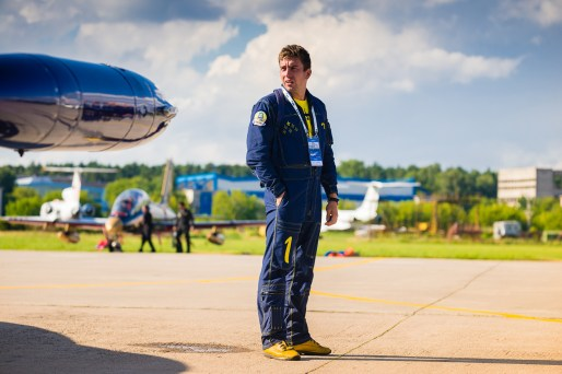 © Baltic Bees - Baltic Bees Pilot Alessandro Sorrano - Baltic Bees Jet Team