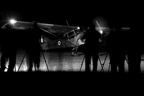 © Jamie Ewan - Auster AOP.9 G-CEHR (British Army XP241) - Spanhoe Photocall