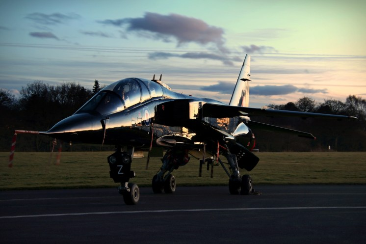 © Jamie Ewan - Defence College of Technical Training SEPECAT Jaguar T2A XX833 - RAF Cosford Nightshoot