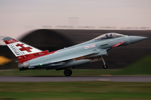 © Jamie Ewan - 41(R) Test and Evaluation Squadron Centenary Typhoon FGR.4 ZK315 - RAF Typhoon Special Schemes