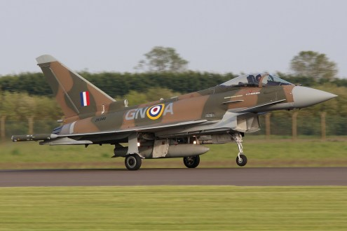 © Jamie Ewan - Battle of Britain 75th Anniversary Typhoon FGR.4 ZK349 - RAF Typhoon Special Schemes