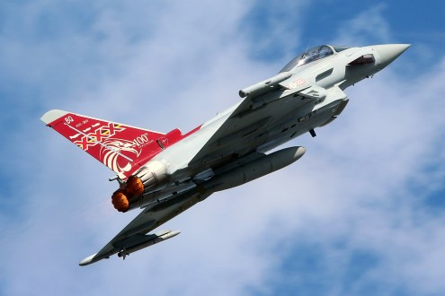 ©Jamie Ewan - 29(R) Squadron Centenary Typhoon FGR.4 ZK353 - RAF Typhoon Special Schemes