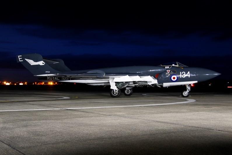 © Jamie Ewan - Fly Navy Heritage De Havilland DH110 Sea Vixen FAW Mk.II XP924 (G-CVIX) - Navy Wings II with Threshold.aero
