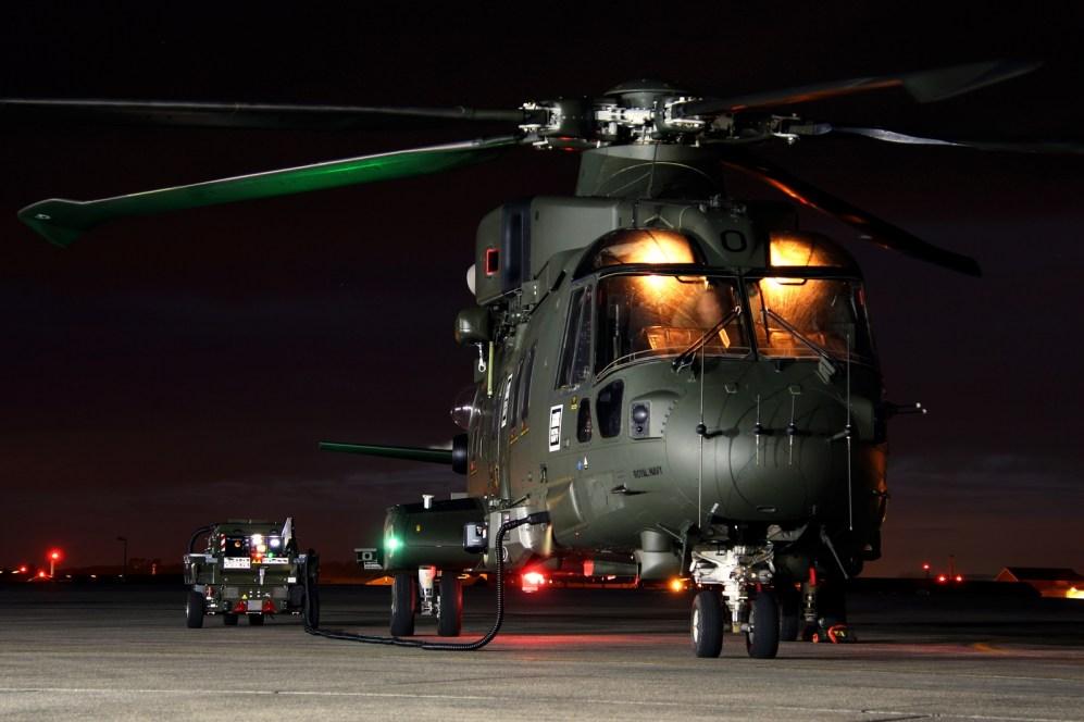 © Jamie Ewan - Royal Navy (FAA) AgustaWestland EH101 Merlin HC3i ZJ130 (846NAS) - Navy Wings II with Threshold.aero