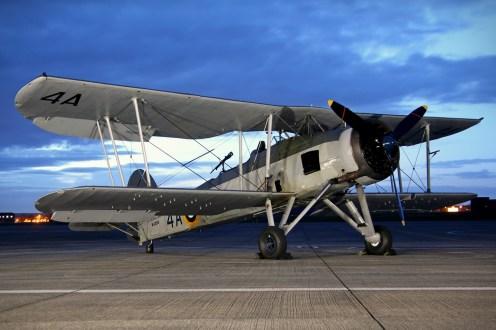 © Jamie Ewan - Royal Navy Historic Flight Fairey Swordfish Mk.1 W5856 - Navy Wings II with Threshold.aero
