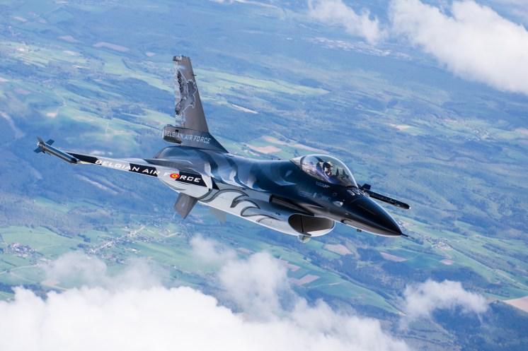 © Graham Platt / BCAR - Belgian Air Force F-16 FA-101 'Dark Falcon'