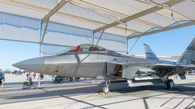 © Doug Monk - F-22 Raptor - Luke AFB Airshow 2018